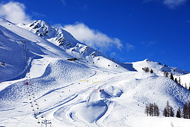 Grand Montet ski area, Chamonix, Haute Savoie, Rhone Alpes, French Alps, France, Europe