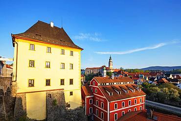 Cesky Krumlov, UNESCO World Heritage Site, South Bohemia, Czech Republic, Europe