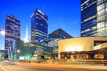 Canary Wharf, One Canada Square, Docklands, London, England, United Kingdom, Europe