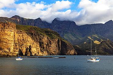 Coastline, Agaete, Gran Canaria, Canary Islands, Spain, Atlantic, Europe