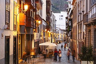 Santa Cruz de la Palma old town, UNESCO Biosphere Site, La Palma, Canary Islands, Spain, Atlantic, Europe