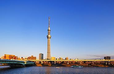Tokyo Sky Tree Tower, Asakusa, Tokyo, Japan, Asia