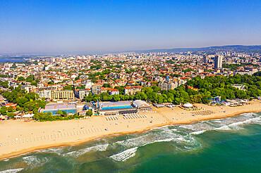 Aerial view by drone, Varna, Bulgaria, Europe