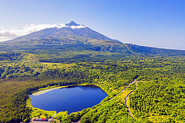 Rishiri Island, Rishiri San mountain, Hokkaido, Japan, Asia