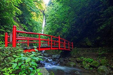 Shasui Falls, Tanzawa River, Kanagawa Prefecture, Honshu, Japan, Asia