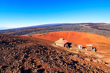 Volcanic landscape, Hawaii Volcanoes National Park, UNESCO World Heritage Site, Big Island, Hawaii, United States of America, North America