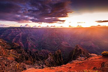 Waimea Canyon State Park, Kauai Island, Hawaii, United States of America, North America
