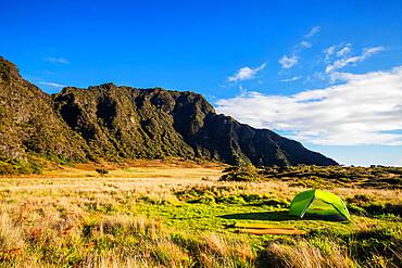 Campsite, Haleakala National Park, Maui Island, Hawaii, United States of America, North America