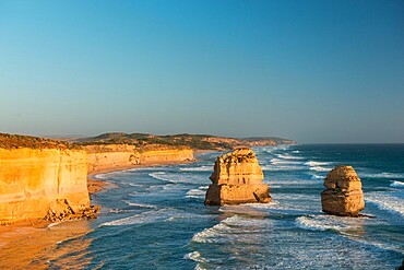 Two of the Twelve Apostles, Twelve Apostles National Park, Port Campbell, Victoria, Australia, Pacific