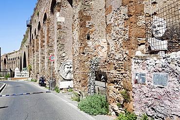 Acqua Tepula (Tepula Aqueduct), Rome, Lazio, Italy, Europe