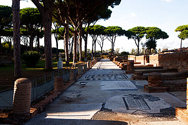 The marina shops, Ostia antica