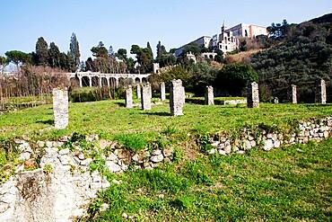 View of old Tivoli, Lazio, Italy, Europe