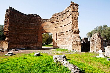 Villa Adriana (Hadrian's Villa) Imperial gate, UNESCO World Heritage Site, Tivoli, Lazio, Italy, Europe