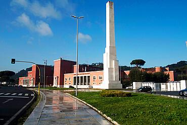 The Mussolini's Obelisk, Foro Italico, Rome, Lazio, Italy, Europe