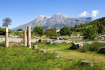The Ancient site of Alba Fucens