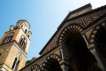 The Duomo in Amalfi, Costiera Amalfitana, UNESCO World Heritage Site, Campania, Italy, Europe