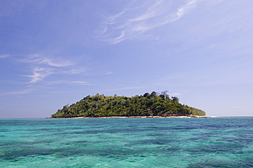 Bamboo Island near Phi Phi Don Island, Thailand, Southeast Asia, Asia