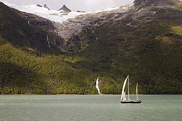 Beagle Channel, Darwin National Park, Tierra del Fuego, Patagonia, Chile, South America