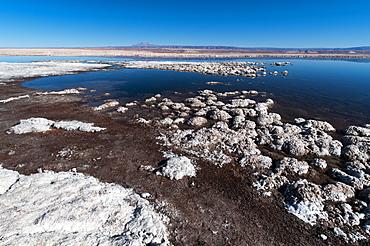 Laguna Tebenquiche, Salar de Atacama, Atacama Desert, Chile, South America