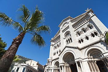 Monaco Cathedral, Principality of Monaco, Cote d'Azur, Europe