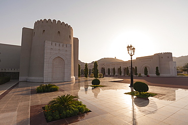 Sultan Qaboos Palace, Muscat, Oman, Middle East