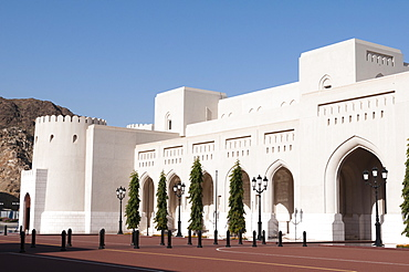 Sultan Qaboos Palace, Old Muscat, Muscat, Oman, Middle East