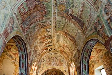 Holy Trinity Church, an historical building in Hrastovlje, Slovenia, Europe