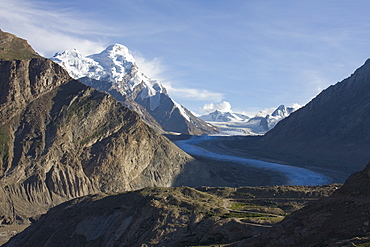 Glacier, Zanskar, India, Asia