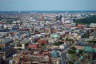 Aerial view, Berlin, Germany, Europe