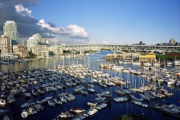 Vancouver harbour, Vancouver, British Columbia, Canada, North America