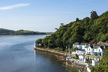 Portmeirion, Harbourside, Estuary, Gwynedd, Wales. United Kingdom, Europe