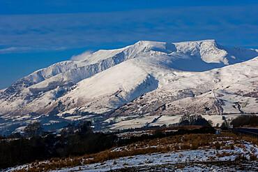 Saddleback, Blencathra, Threlkeld, Keswick, Lake District National Park, UNESCO World Heritage Site, Cumbria, England, United Kingdom, Europe
