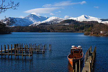 Causey Pike, Grisedale Pike, Derwentwater, Keswick, Lake District National Park, UNESCO World Heritage Site, Cumbria, England, United Kingdom, Europe