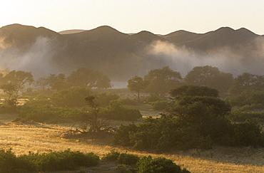 Landscape Dry River, Hoanib, Kaokoland, Namibia