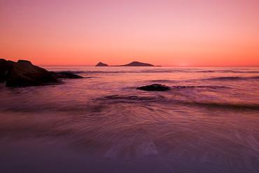 Sunset at Whiskey Beach, Wilsons Promontory, Victoria, Australia,