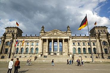 The Reichstag, German Parliament building, Mitte, Berlin, Germany, Europe