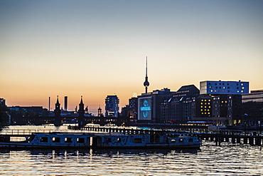 Skyline of Berlin, Kreuzberg, Berlin, Germany, Europe