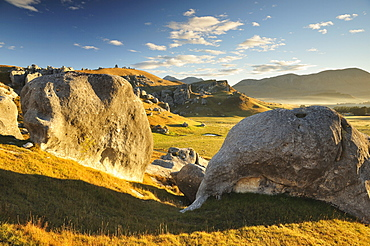 Castle Hill, Canterbury high country, South Island, New Zealand, Pacific