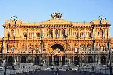 Palazzo di Giustizia, Piazza del Tribunali, Rome, Lazio, Italy, Europe