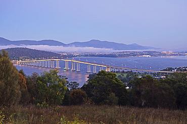 Tasman Bridge, River Derwent, Hobart, Tasmania, Australia, Pacific