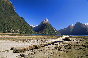 Milford Sound and Mitre Peak, South Island, New Zealand, Pacific