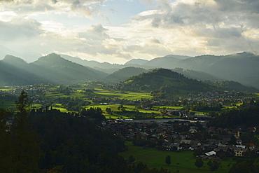Julian Alps near Bled, Slovenia, Europe