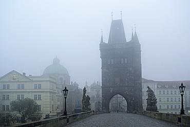 Charles Bridge, Prague, Czech Republic, Europe