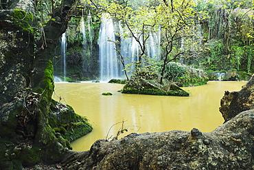 Kursunlu Waterfall, Antalya Province, Anatolia, Turkey, Asia Minor, Eurasia