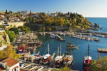 Kaleici old city centre, Antalya, Mediterranean Sea, Antalya Province, Anatolia, Turkey, Asia Minor, Eurasia