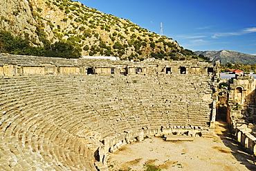 Theatre of Myra, Demre, Antalya Province, Anatolia, Turkey, Asia Minor, Eurasia