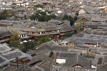 Lijiang Old Town, UNESCO World Heritage Site, Lijiang, Yunnan Province, China, Asia