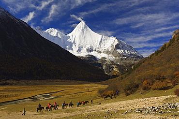 Yangmaiyong, Yading Nature Reserve, Sichuan Province, China, Asia