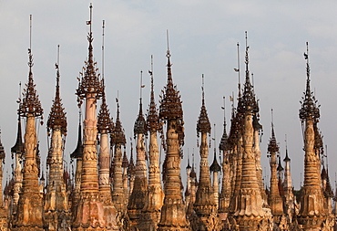 Kakku Pagoda Complex, Shan State, Myanmar (Burma), Asia - 757-297