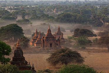Ruins of Bagan (Pagan), Myanmar (Burma), Asia
